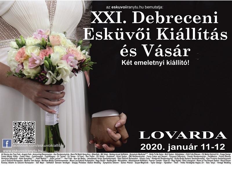 XXI. Debreceni Esküvői Kiállítás